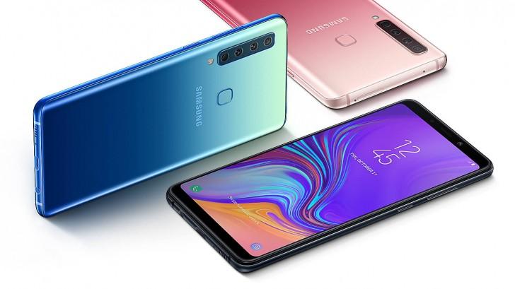 سامسونج تطرح هاتف باربعة كاميرات خلفية Galaxy A9 (موديل 2018)