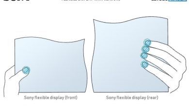 صورة سوني تقدم براءة اختراع لشاشات مرنة تتضمن مستشعرات