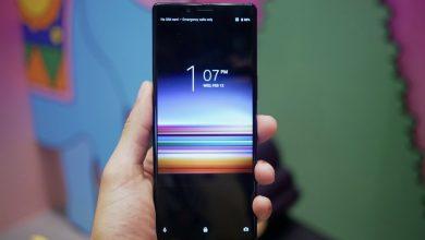 صورة سوني لازالت في الصورة : الكشف عن هواتف بابعاد جديدة واول شاشة 4K OLED