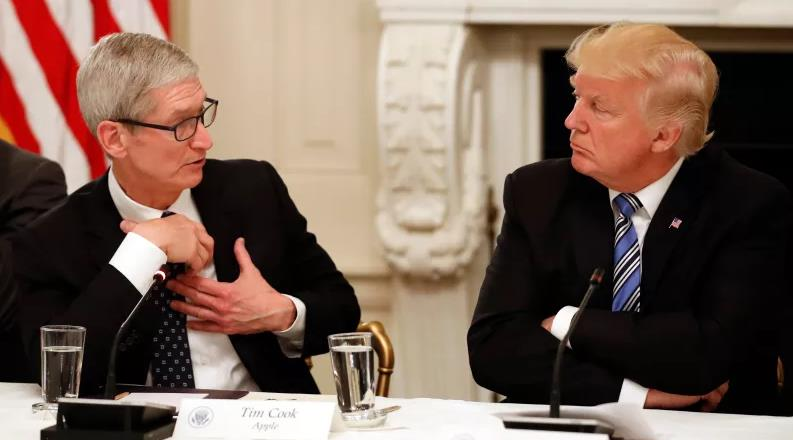 صراع آبل ترامب يتجدّد بتغريدة من الرئيس انقلوا اعمالكم الى الوطن وتجنبوا الضرائب