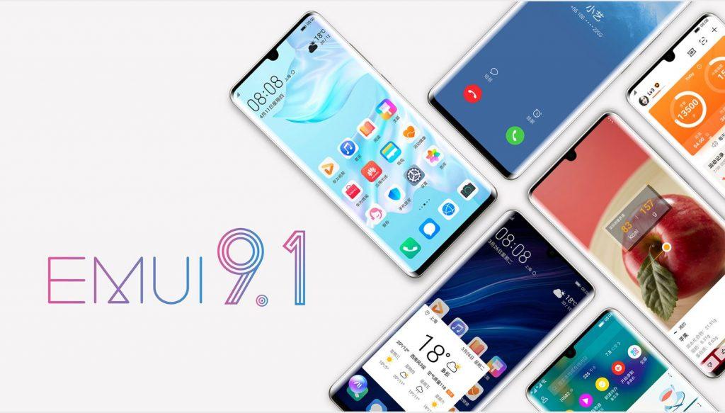 قائمة الهواتف واجهزة تابلت هواوي وهونور التي ستحصل على واجهة EMUI 9.1
