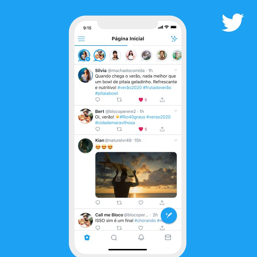 Fleets : تويتر تبدأ في اختبار القصص الخاصه بها 1