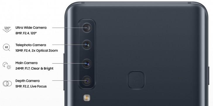 سامسونج تطرح هاتف باربعة كاميرات خلفية Galaxy A9 (موديل 2018) 1