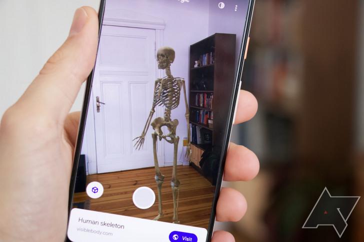 كل نماذج الـ 3D الموجودة على بحث جوجل لتظهر في غرفتك الخاصة