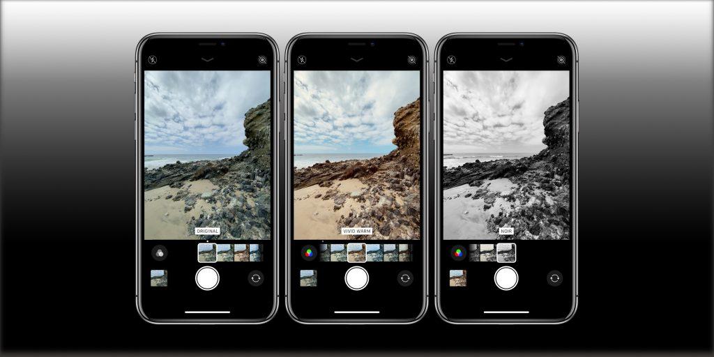 كيف تستخدم فلاتر الكاميرا في الايفون 11 والايفون 11 برو