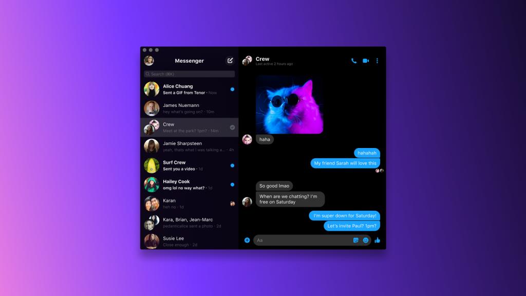 Messenger يصل الى الويندوز والماك بكل المزايا 1