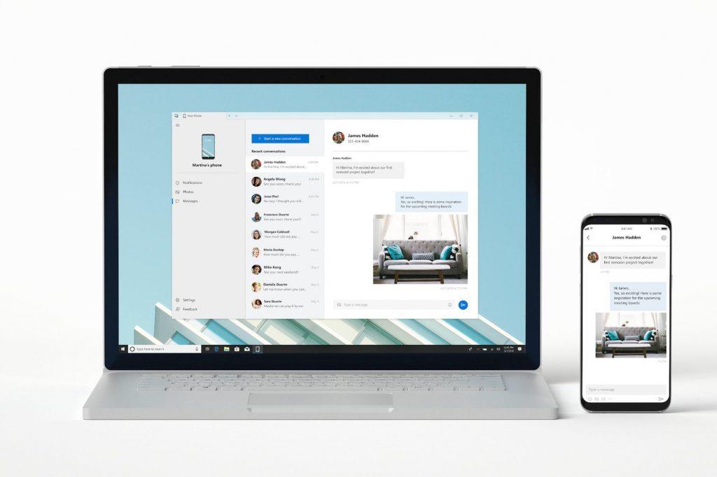 مايكروسوفت تتيح لك ربط جهازك المكتبي بالويندوز 10 مع هاتفك الاندرويد