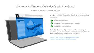 Photo of مايكروسوفت تطلق اضافة (Windows Defender) لمتصفحي كروم وفايرفوكس