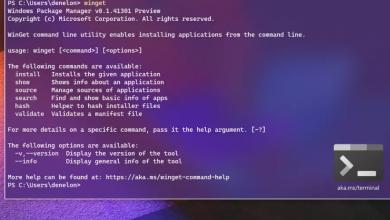 صورة مايكروسوفت تطلق Package Manager لتثبيت التطبيقات بكتابة امر برمجي