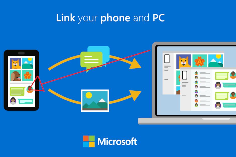 مايكروسوفت تتيح لك ربط جهازك المكتبي بالويندوز 10 مع هاتفك الاندرويد 1