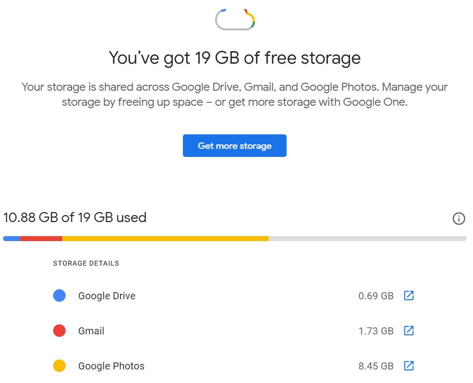 Gmail: كيف تحرر مساحات اضافية في 3 خطوات 1