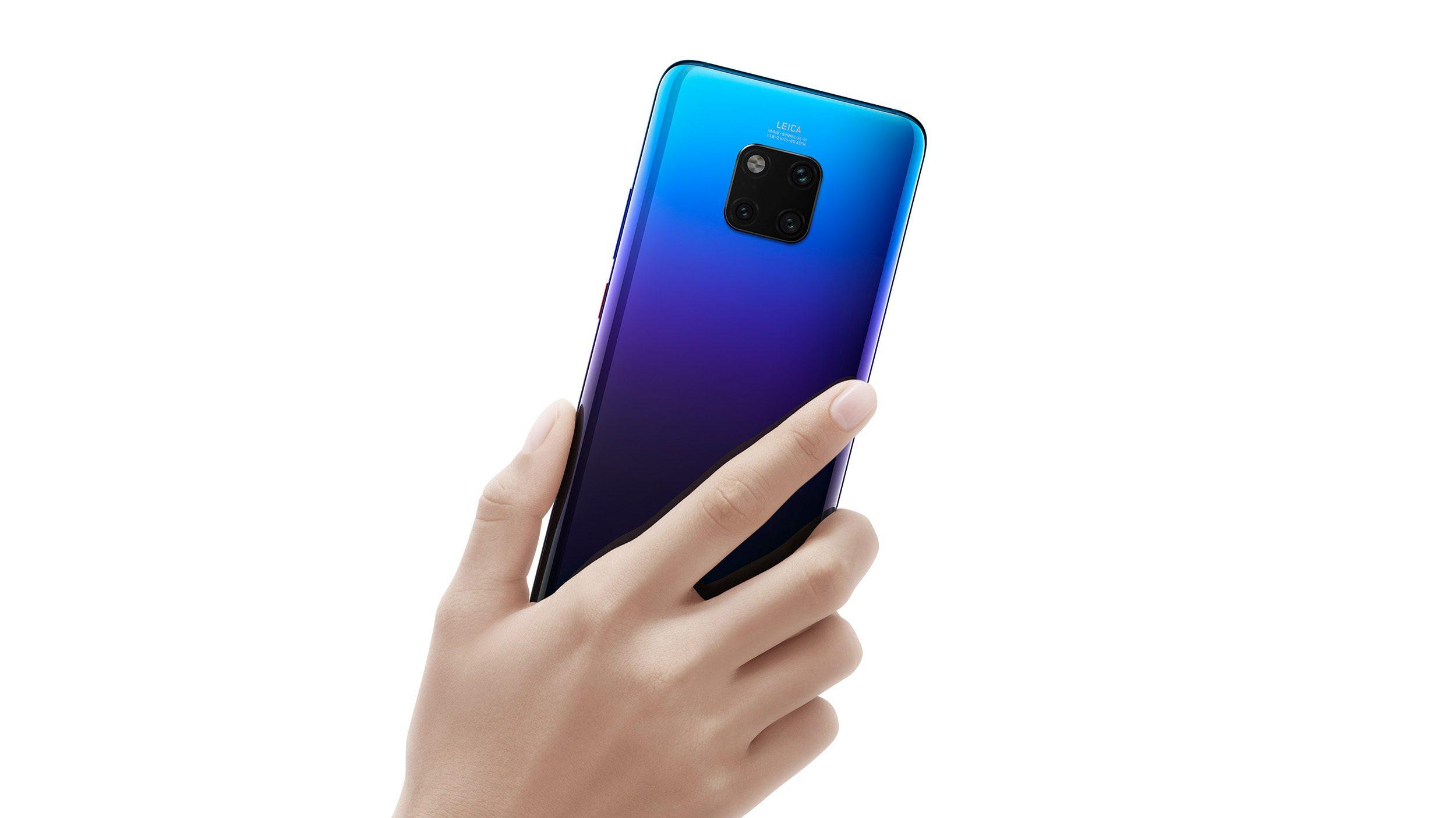 هواوي تكشف رسميا عن 4 موديلات من هاتف Mate 20 2