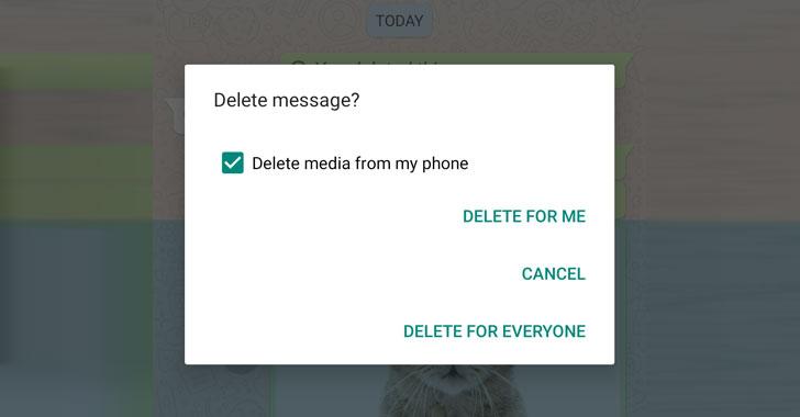 ميزة (الغاء الرسالة من الكل) لتطبيق واتس آب تتعرض لانتكاسه على هواتف الايفون