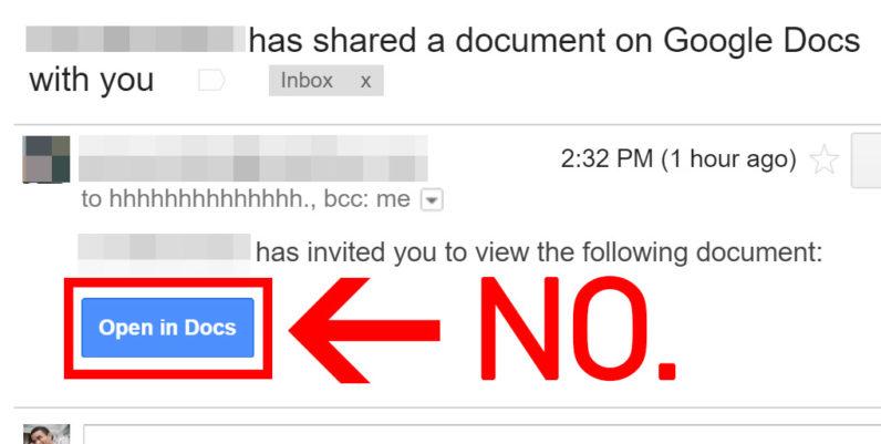 Photo of هجوم الكتروني يخترق مليون حساب على بريد جيميل عبر تطبيق Google Docs
