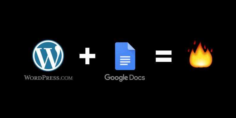 صورة اضافة رسمية من ووردبريس على جوجل كروم تتيح الدمج مع Google Docs