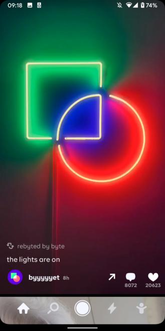 Byte يعيد فكرة تطبيق Vine الى جوجل بلاي 1