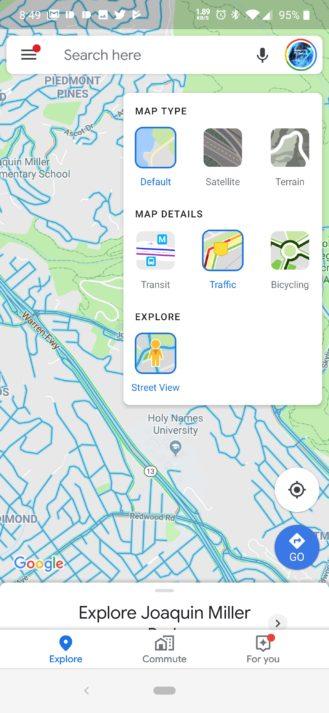 جوجل تضيف ميزة التجول الافتراضي في تطبيق الخرائط 1