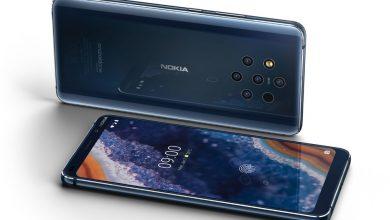 Photo of Nokia 9 PureView رسمياً أول هاتف بخمس كاميرات خلفية
