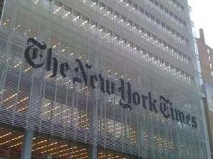 صورة لمبنى نيويورك تايمز