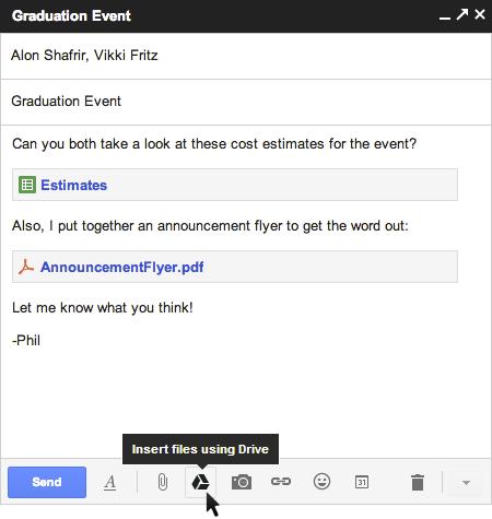 صورة جوجل تتيح الان ارسال ملفات تصل الى 10 جيجا بايت عبر جيميل وخدمة درايف