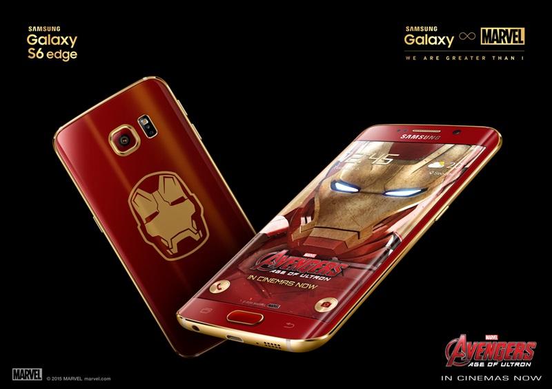 Photo of سامسونج تكشف رسميا عن نسخة Iron Man من هاتف جالاكسي اس 6 ايدج