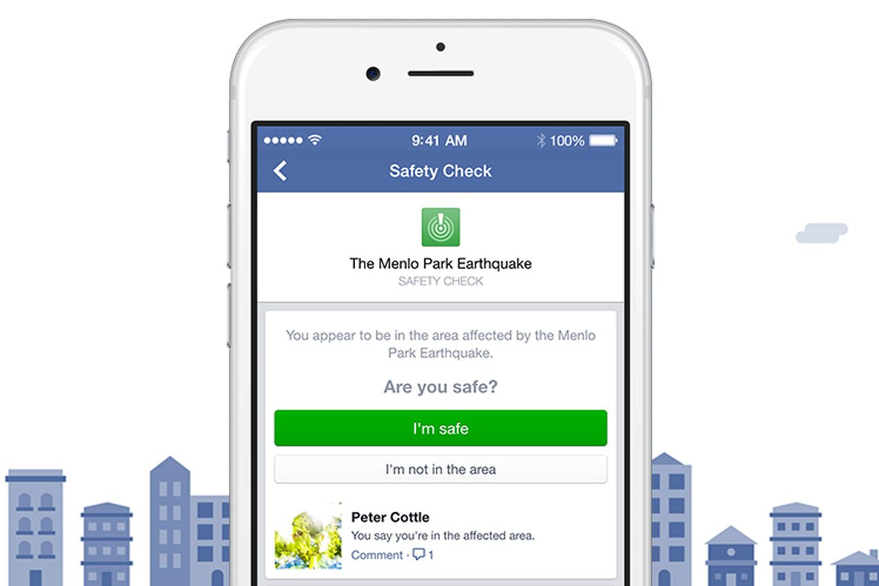 Photo of لاول مرة : الفيس بوك تطلق خدمة safety check في امريكا بعد حادث ارهابي