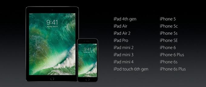 Photo of هذه هي الاجهزة المتوافقة مع iOS 10