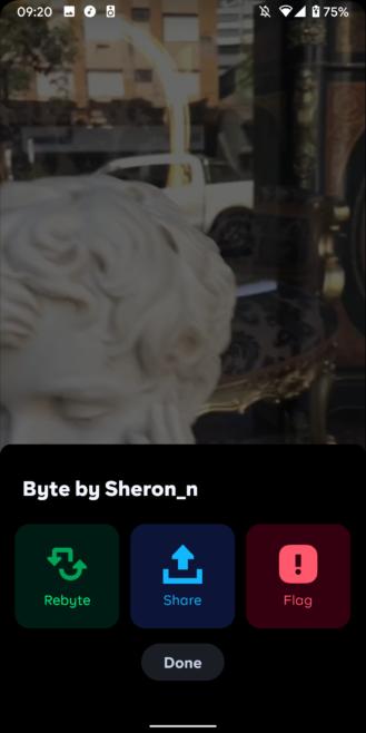 Byte يعيد فكرة تطبيق Vine الى جوجل بلاي 3