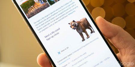 Google 3D animals في محرك البحث اليك القائمة كاملة