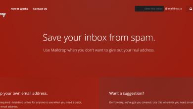 Photo of Maildrop خدمة بريد مجانية للحصول على عنوان بريدي مؤقت