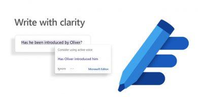 Photo of Microsoft Editor اضافة جديدة لتحسين الكتابة في متصفح جوجل كروم