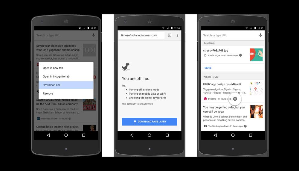 Photo of جوجل تجعل القراءة بدون انترنت عبر متصفح كروم للاندرويد أكثر سهولة