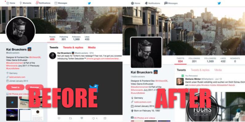 Photo of اضافة جديدة لمتصفح كروم تعيد نسخة تويتر للويب الى الشكل القديم