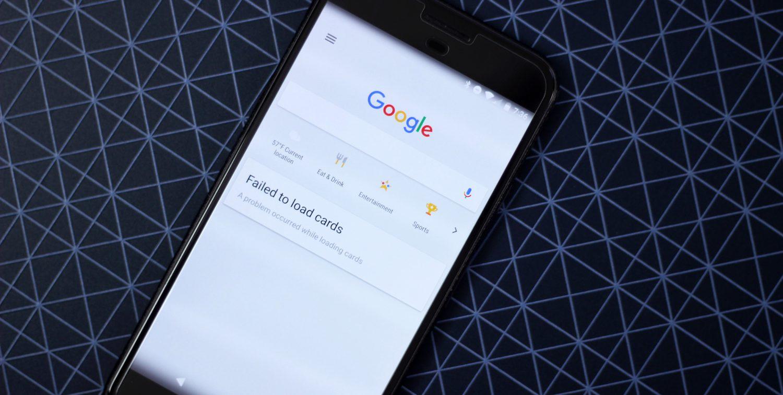 Photo of كيف تحل مشكلة (Failed to load cards) في تطبيق Google Now