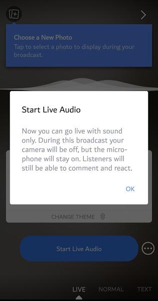 تحديثات جديدة للبث المباشر على الفيس بوك : Boomerang ورسم ثلاثي الابعاد وبث صوتي فقط 1